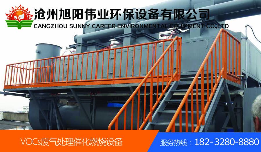 江苏徐州50000m3/h喷涂废气催化燃烧设备
