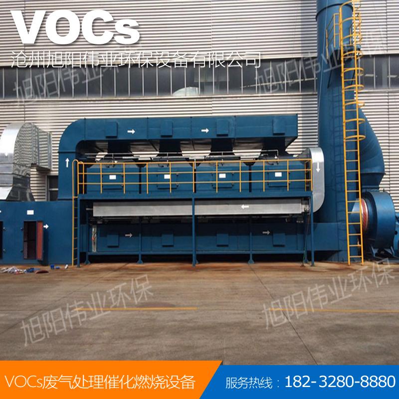 100000m3/h徐州喷漆废气催化燃烧设备