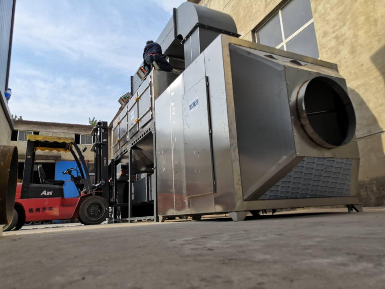 河北邢台不锈钢催化燃烧装置成功案例
