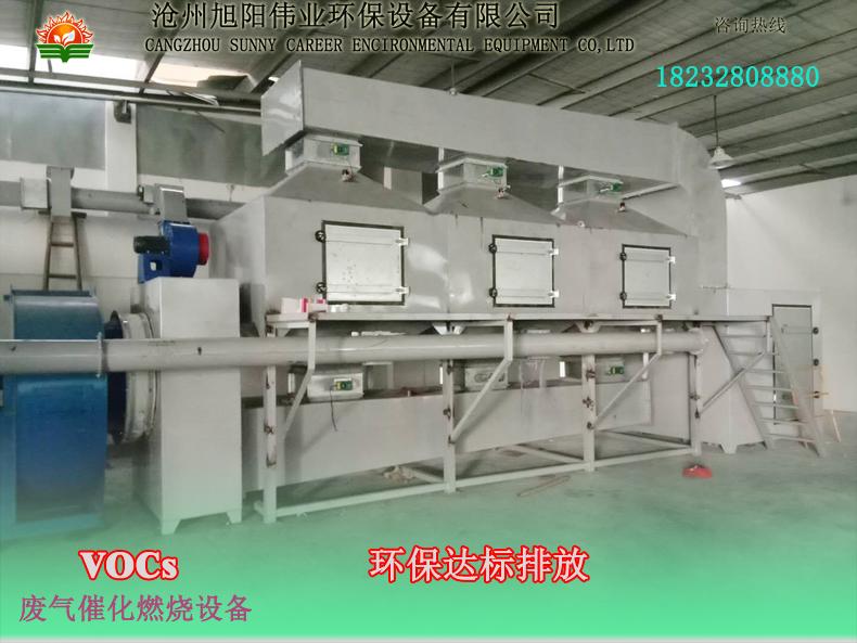 60000m3/h印刷废气吸附+脱附+催化燃烧设备
