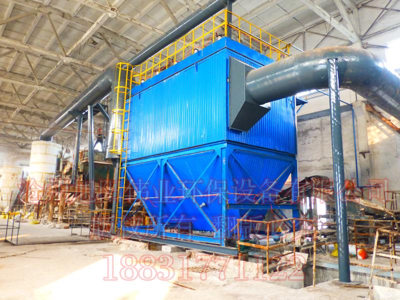 10万吨复合肥生产线筛分系统配套HFMC-500型复合肥脉冲布袋除尘器