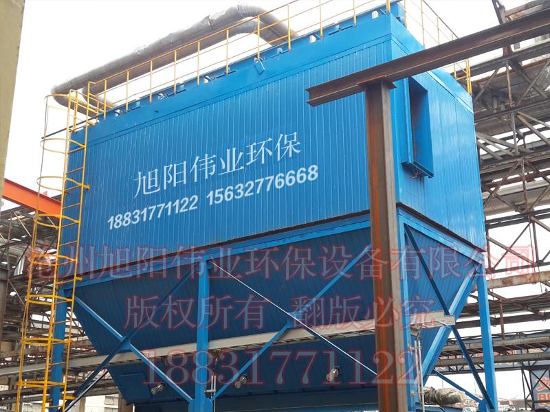 20万吨硝基高塔复合肥生产线原料系统配套的HFMC-600型复合肥脉冲布袋除尘器