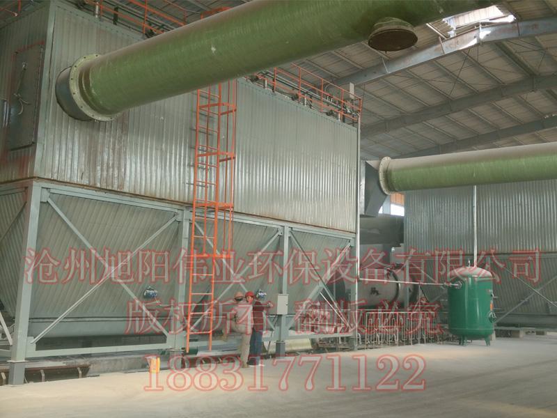 10万吨复合肥生产线配套全套HFMC系列脉冲布袋除尘器