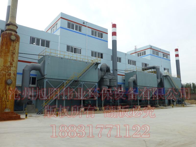 20万吨蒸汽造粒复混肥生产线配套专用脉冲布袋除尘器