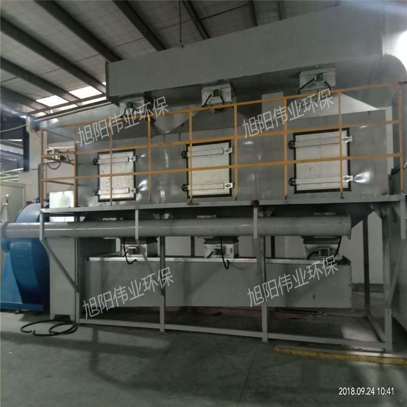 喷漆房废气处理设备  催化燃烧有机废气处理