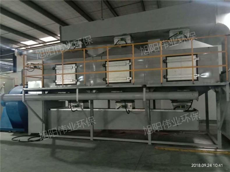 福建福州喷漆房催化燃烧设备 有机废气处理 环保设备