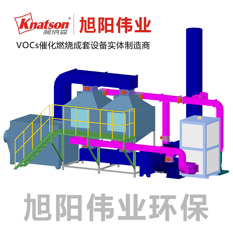 10000m3/h印刷废气治理催化燃烧设备