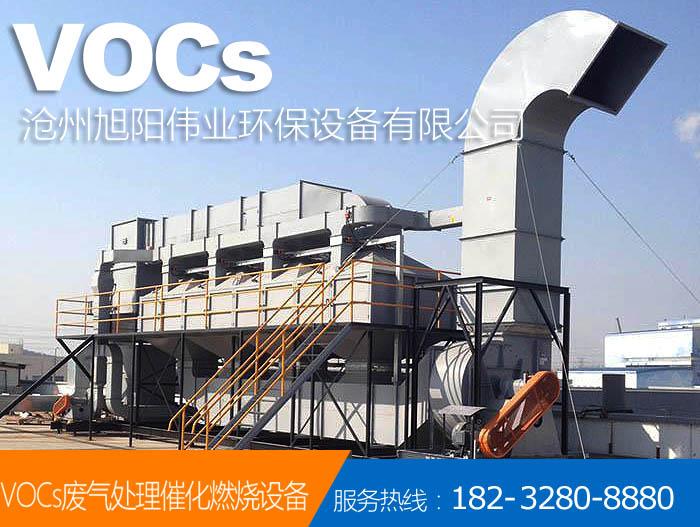 50000m3/h佛山喷漆房催化燃烧设备