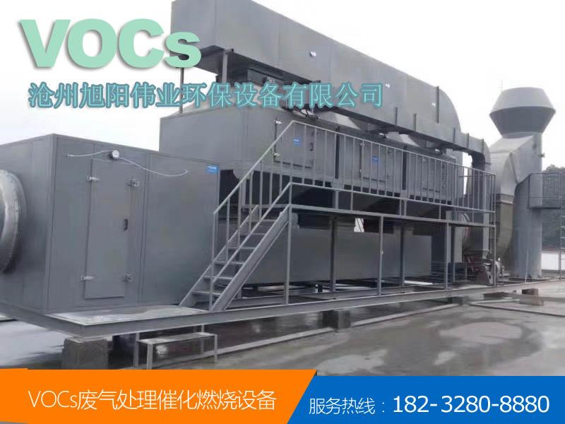 70000m3/h郑州喷漆废气催化燃烧设备