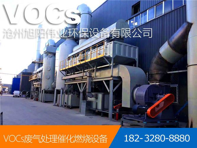 40000m3/h橡胶废气吸附+脱附+催化燃烧设备